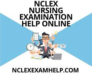 NCLEX Nursing Examination Help Online